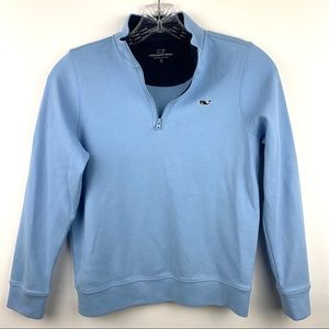 Vineyard Vines Boy's 1/4 zip Pullover Sweatshirt